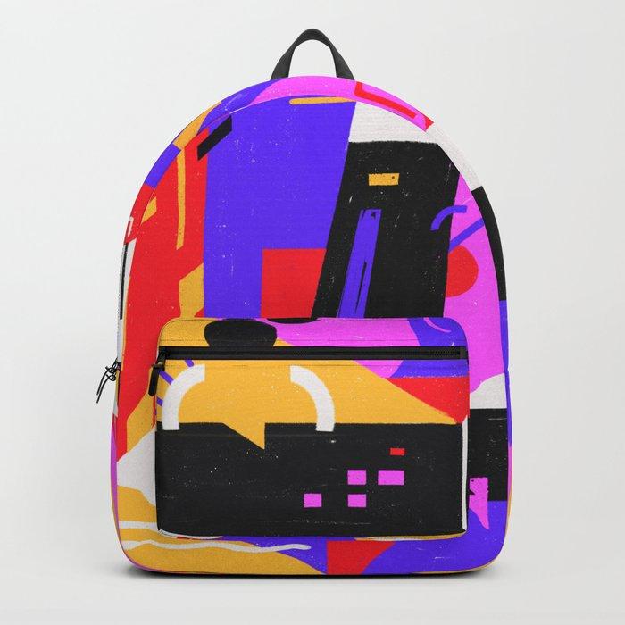Multi-dimensional city Backpack