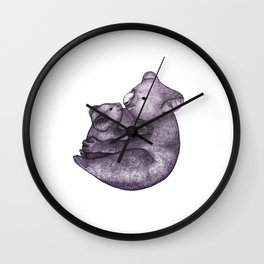 Koala Bear Love  Wall Clock