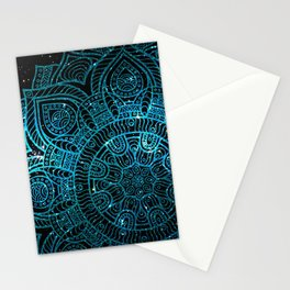 Space mandala 24 Stationery Cards