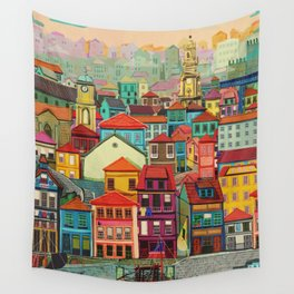 Porto Wall Tapestry