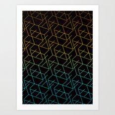 Cube Me Art Print