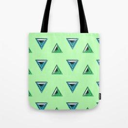 Trillion Gemstone Pattern Tote Bag
