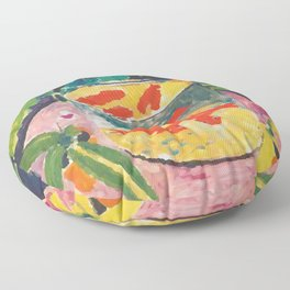 The Goldfish , Henri Matisse Floor Pillow