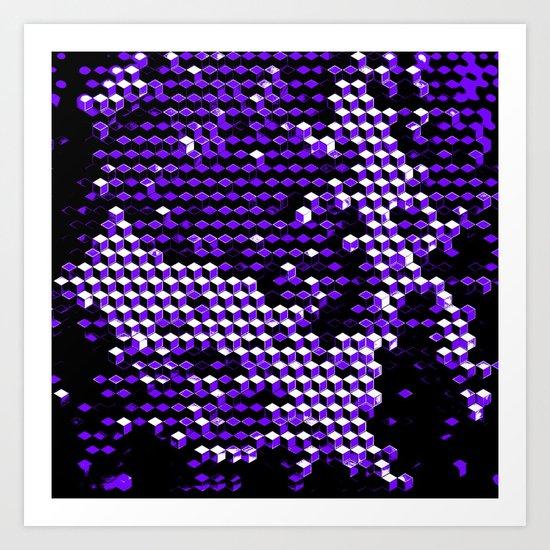 8byx_qbix Art Print