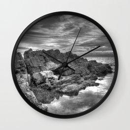 Limeslade Bay Gower Peninsula Wall Clock