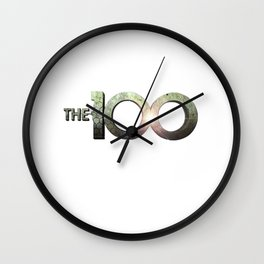 The 100 Wall Clock