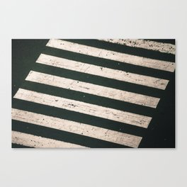 ROAD WORK Canvas Print
