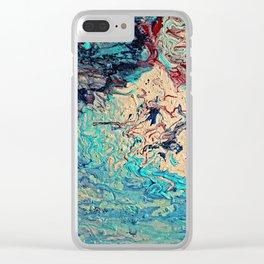 Art Storm II Clear iPhone Case