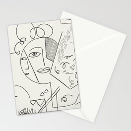 Cubist Perception  Stationery Cards