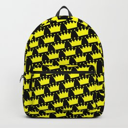 Crowns Pattern Backpack