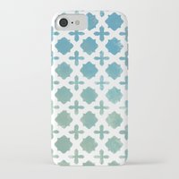 monogram iPhone & iPod Cases featuring Monogram by Chilligraphy
