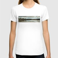 country T-shirts featuring Country  by Julia Lake Art Designs