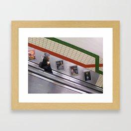 London subway Framed Art Print
