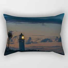 Point Vicente Lighthouse at Dawn Rectangular Pillow