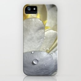 Water Lily Simplicity iPhone Case