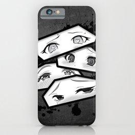 Ahegao Eyes iPhone Case
