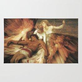 Mourning for Icarus - Draper Herbert James Rug