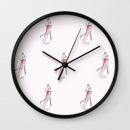 Bowtiful Wall Clock