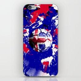 football Iceland iPhone Skin