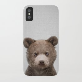 Baby Bear - Colorful iPhone Case
