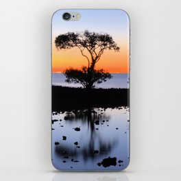 Cleveland Point Sunset iPhone Skin