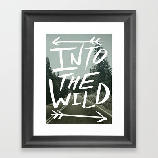 Into the Wild II Framed Art Print