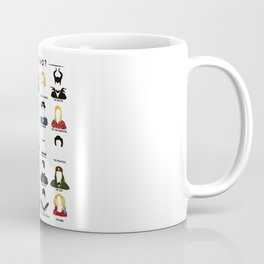 Who's who ? Coffee Mug