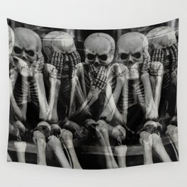 The Bench of Regrets Wall Tapestry
