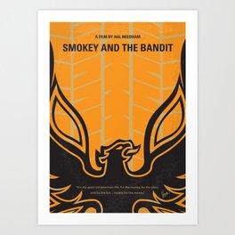 No398 My smokey and the bandits Art Print