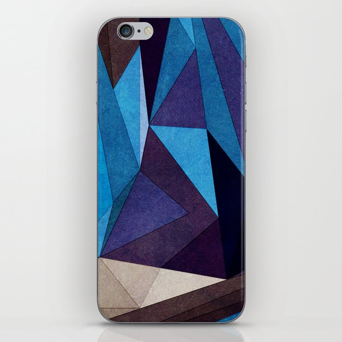 Blue Something iPhone Skin