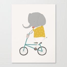 Emerson Rides Canvas Print