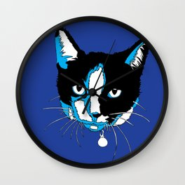 Watson For President (The Blue Edition) Wall Clock