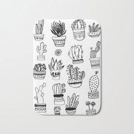 Succulents & Cactus Bath Mat