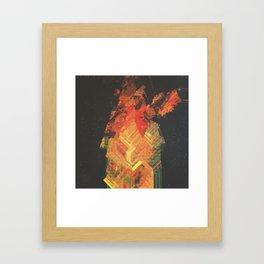 st_nd closer upfro_t Framed Art Print