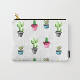 Watercolorcactus pattern Carry-All Pouch