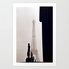 Paris - Le Tour Eiffel 3 Art Print