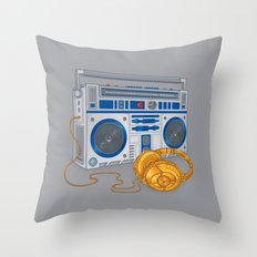 Recycled Future Throw Pillow