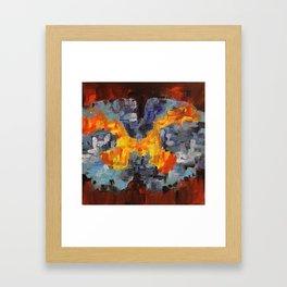 Cross Section Two Framed Art Print