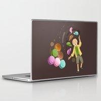 macarons Laptop & iPad Skins featuring Macarons by Lilian Darmono