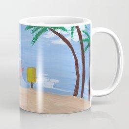 Above Bikini Bottom Coffee Mug
