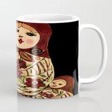Russian dolls 2 / warmer colors  Mug