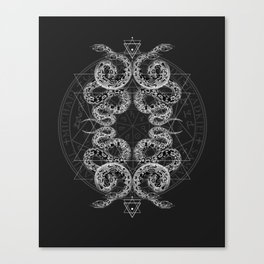 BigGodSerpent Canvas Print