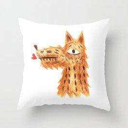 Der Hund Throw Pillow