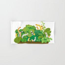 Garden eel Hand & Bath Towel