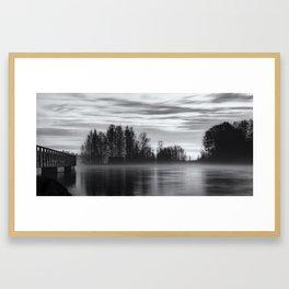 Ostrogoth - black edition Framed Art Print