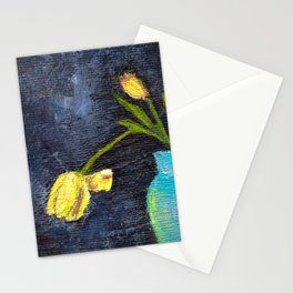 Vase and Flowers Stationery Cards