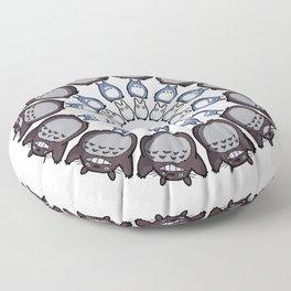 Anime Mandala Floor Pillow
