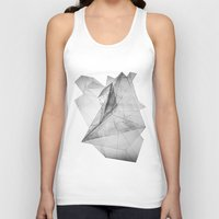 triangle Tank Tops featuring triangle by Katekima