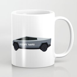 Cybertruck Occupy Mars Vehicle Coffee Mug