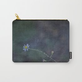 Daisy with Dark Expressions Carry-All Pouch